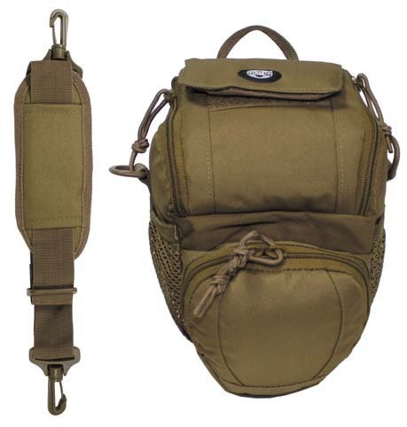 "Schulter -Umhängetasche "" SCOUT"" Molle Coyote tan"